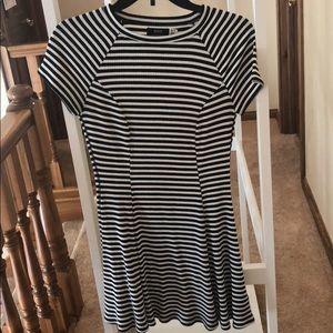 BDG black and white dress
